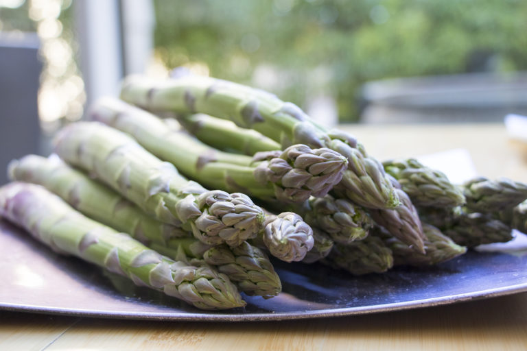 Asparagus, flavours of an evening ...