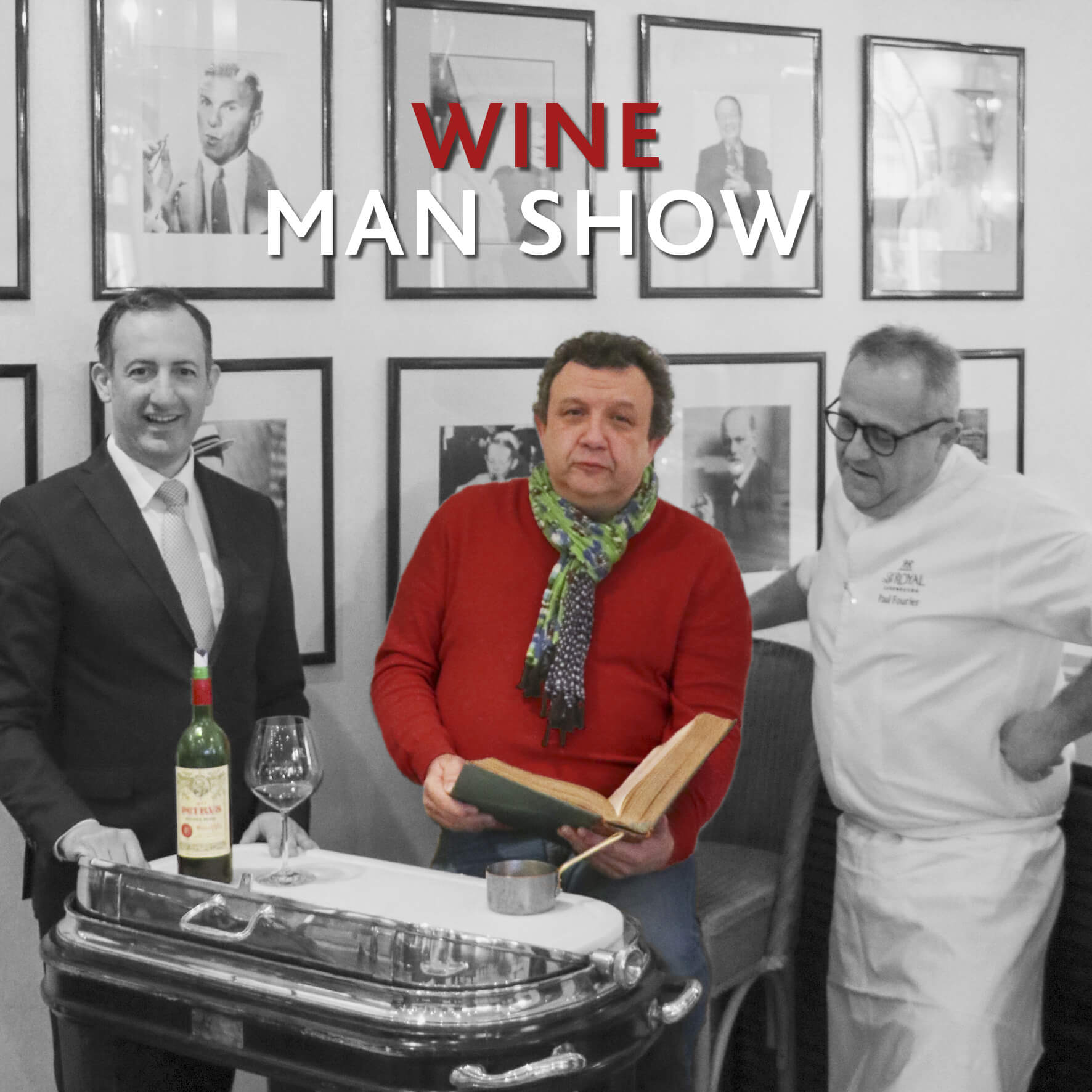 Wine Man show with Eric Boschman